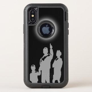 Capa Para iPhone X OtterBox Defender Observação estranha
