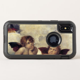 Capa Para iPhone X OtterBox Defender Os anjos de Raphael