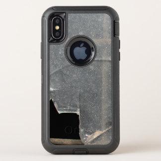 Capa Para iPhone X OtterBox Defender Vidro quebrado com bares de metal