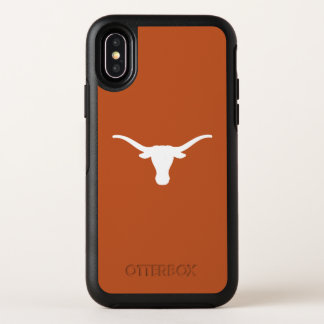 Capa Para iPhone X OtterBox Symmetry A Universidade do Texas | engancha-os chifres