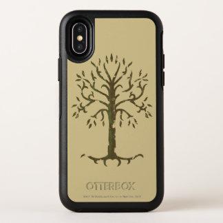 Capa Para iPhone X OtterBox Symmetry Árvore branca de Gondor