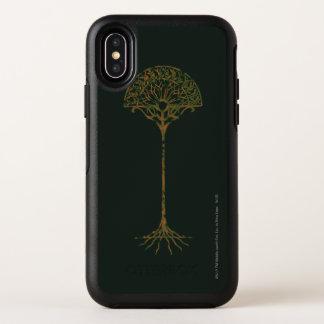 Capa Para iPhone X OtterBox Symmetry Árvore branca de Númenor