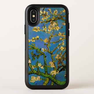 Capa Para iPhone X OtterBox Symmetry Árvore de amêndoa de florescência por Van Gogh,