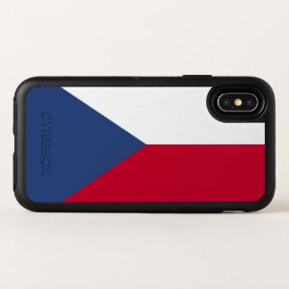 Capa Para iPhone X OtterBox Symmetry Bandeira da república checa
