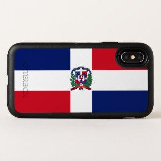 Capa Para iPhone X OtterBox Symmetry Bandeira da República Dominicana