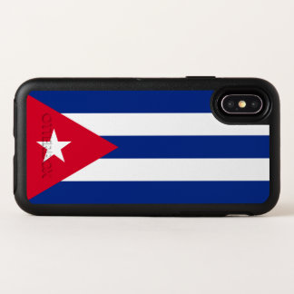 Capa Para iPhone X OtterBox Symmetry Bandeira de Cuba