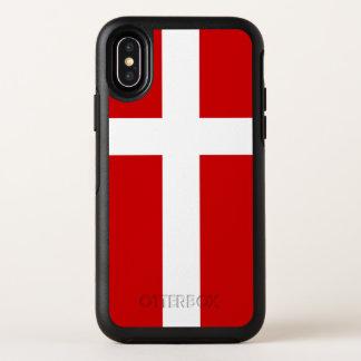 Capa Para iPhone X OtterBox Symmetry Bandeira de Dinamarca