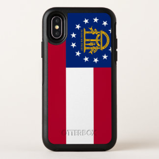 Capa Para iPhone X OtterBox Symmetry Bandeira de Geórgia