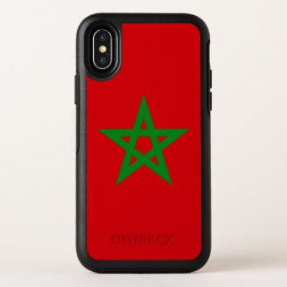 Capa Para iPhone X OtterBox Symmetry Bandeira de Marrocos