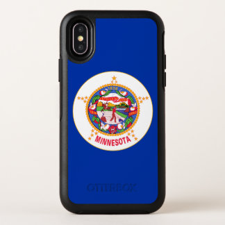 Capa Para iPhone X OtterBox Symmetry Bandeira do estado de Minnesota