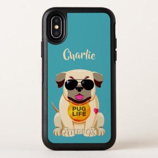 Capa Para iPhone X OtterBox Symmetry Capas de telefone feitas sob encomenda do nome &