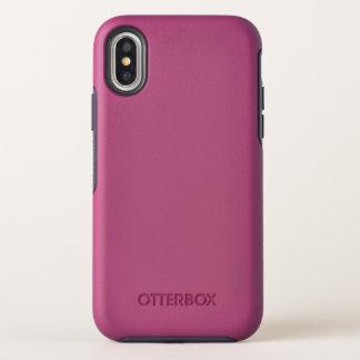 Capa Para iPhone X OtterBox Symmetry Caso da simetria do iPhone X de OtterBox Apple