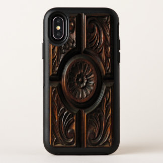 Capa Para iPhone X OtterBox Symmetry Caso de madeira do iPhone X de OtterBox da imagem