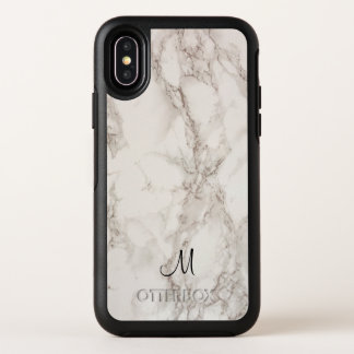 Capa Para iPhone X OtterBox Symmetry Caso de pedra de mármore do iPhone X de Apple da