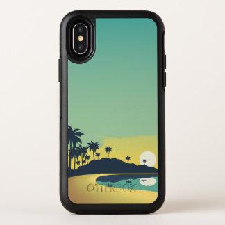 Capa Para iPhone X OtterBox Symmetry Caso do iPhone sereno X do por do sol & das