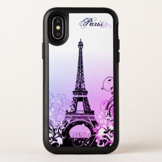 Capa Para iPhone X OtterBox Symmetry Caso do iPhone X de Paris OtterBox da torre Eiffel