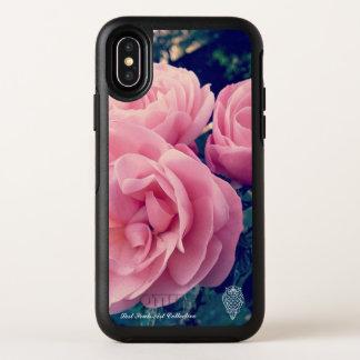 Capa Para iPhone X OtterBox Symmetry Caso perdido de Iphone X do rosa do rosa das almas