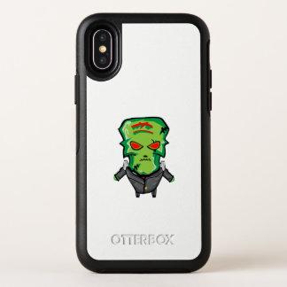 Capa Para iPhone X OtterBox Symmetry Desenhos animados vermelhos e verdes o Dia das