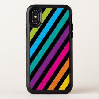 Capa Para iPhone X OtterBox Symmetry Design colorido 7 da forma na moda brilhante de