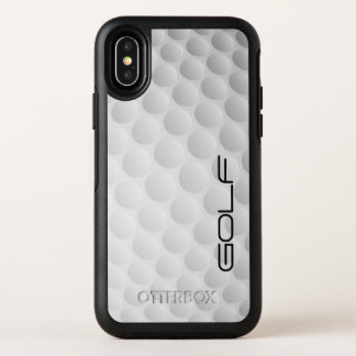 Capa Para iPhone X OtterBox Symmetry Design da bola de golfe