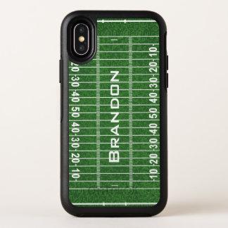 Capa Para iPhone X OtterBox Symmetry Design do campo de futebol