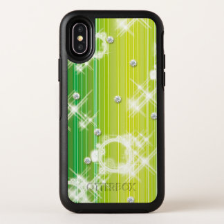 Capa Para iPhone X OtterBox Symmetry Diamante esmeralda