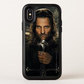 Capa Para iPhone X OtterBox Symmetry Espada de Aragorn para baixo