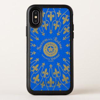 Capa Para iPhone X OtterBox Symmetry Etiqueta de Savon de la Reine Sabão