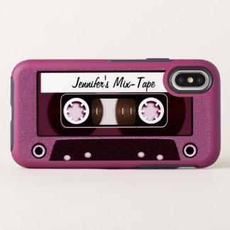 Capa Para iPhone X OtterBox Symmetry Fita cor-de-rosa da mistura