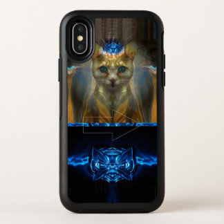 Capa Para iPhone X OtterBox Symmetry Gato real