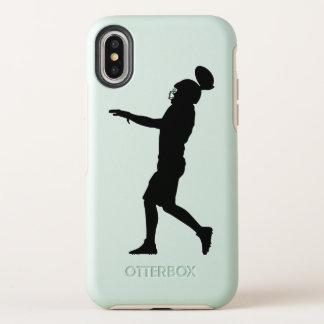 Capa Para iPhone X OtterBox Symmetry Jogador de futebol americano
