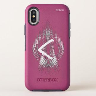 CAPA PARA iPhone X OtterBox SYMMETRY ☼KENAZ - RUNE DA REGENERAÇÃO & DO FIRE☼