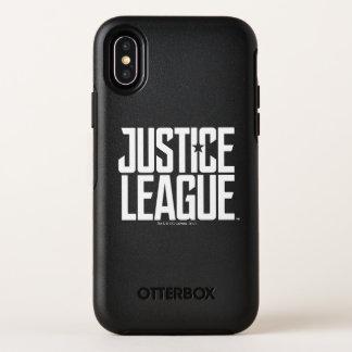 Capa Para iPhone X OtterBox Symmetry Logotipo da liga de justiça da liga de justiça |