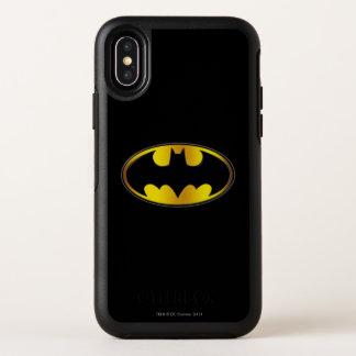 Capa Para iPhone X OtterBox Symmetry Logotipo oval do inclinação do símbolo | de Batman