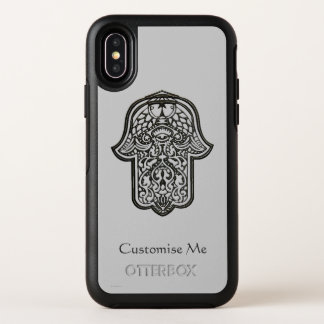 Capa Para iPhone X OtterBox Symmetry Mão do Henna de Hamsa (original)