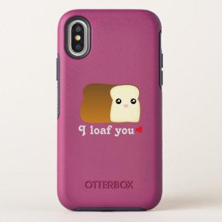 Capa Para iPhone X OtterBox Symmetry Mim naco você chalaça engraçada da comida dos
