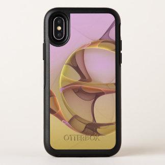 Capa Para iPhone X OtterBox Symmetry Movimentos abstratos, luz moderna - Fractal
