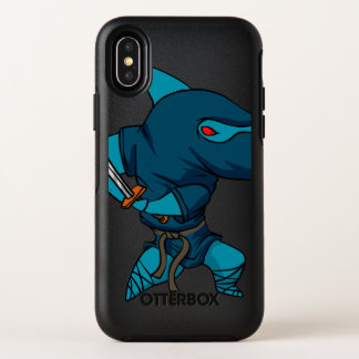 Capa Para iPhone X OtterBox Symmetry Ninja do tubarão