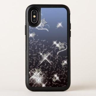 Capa Para iPhone X OtterBox Symmetry Noite da dança da estrela
