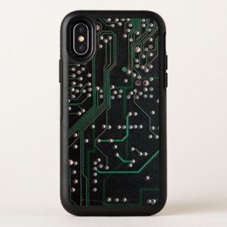 Capa Para iPhone X OtterBox Symmetry O conselho de circuito eletrônico