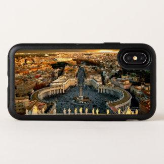 Capa Para iPhone X OtterBox Symmetry O quadrado de St Peter