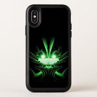 Capa Para iPhone X OtterBox Symmetry Olhos de incandescência de néon de w do dragão