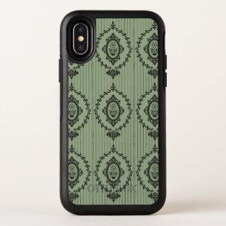 Capa Para iPhone X OtterBox Symmetry Papel de parede barroco…