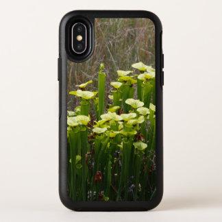 Capa Para iPhone X OtterBox Symmetry Planta de jarro verde e amarelo no pântano