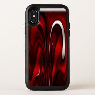 Capa Para iPhone X OtterBox Symmetry Redemoinho vermelho