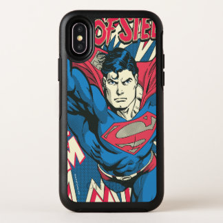 Capa Para iPhone X OtterBox Symmetry Superman 12