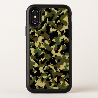 Capa Para iPhone X OtterBox Symmetry Verde/Brown Camo