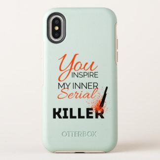 Capa Para iPhone X OtterBox Symmetry Você inspira meu assassino em série interno