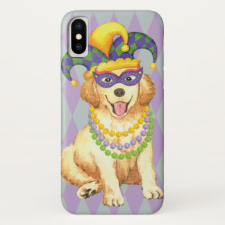 Capa Para iPhone X Ouro do carnaval