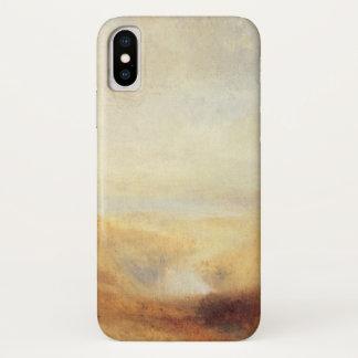 Capa Para iPhone X Paisagem com a baía distante do rio por Joseph